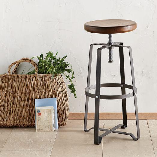 Rustic Industrial Stool west elm : rustic industrial stool c from www.westelm.com size 523 x 523 jpeg 43kB