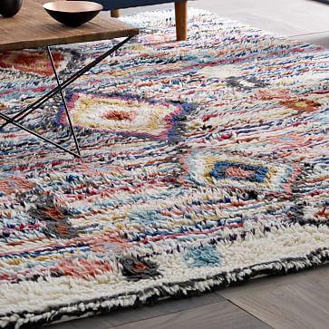 Roar Rabbit Shadow Geo Wool Rug West Elm