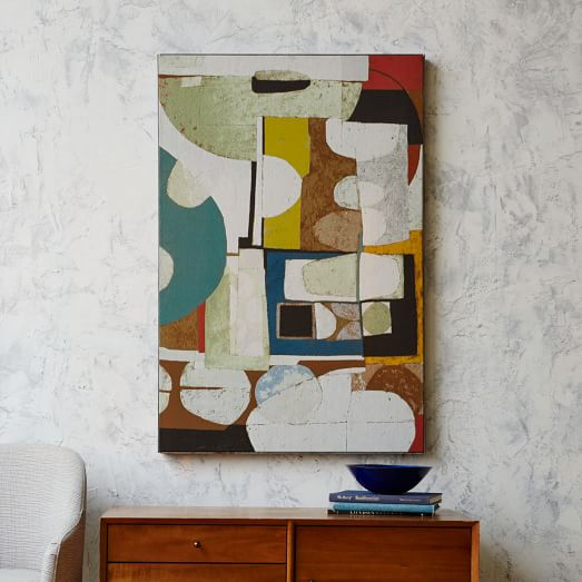Christopher Wynter Art Rug Ivory: Christopher Wynter Woven Wall Art