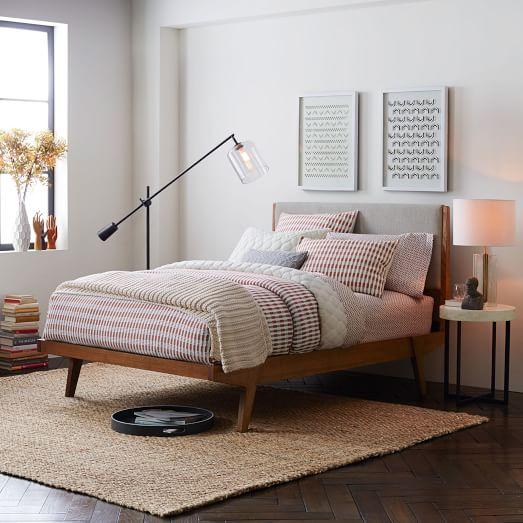 Modern Bed Linen Weave West Elm