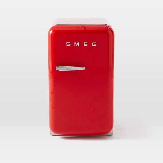 smeg mini refrigerators west elm. Black Bedroom Furniture Sets. Home Design Ideas