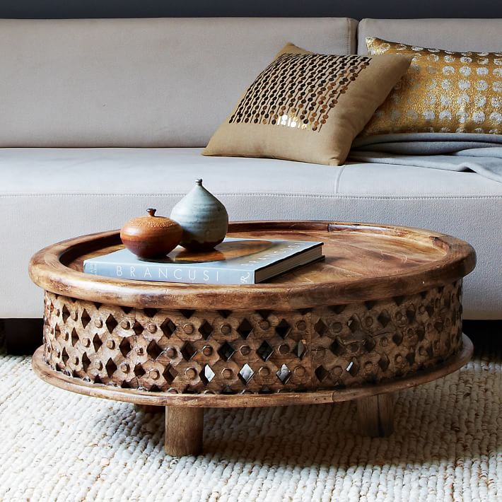 carved wood coffee table 349 special 279 carved solid mango wood
