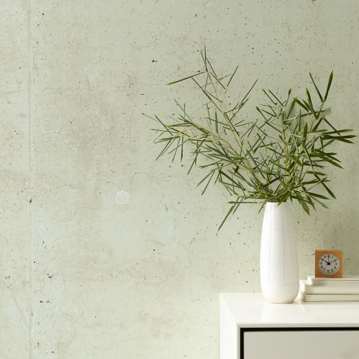Wilshire Mural Removable Wallpaper - Bisque | west elm