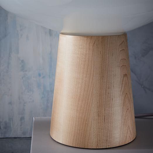 Scandinavian Wood Table Lamp West Elm
