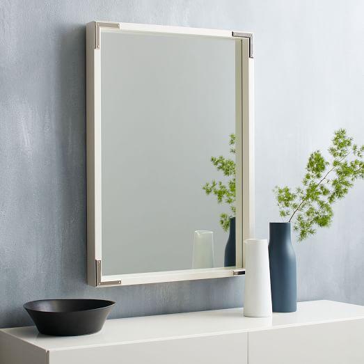 Wall mirror white