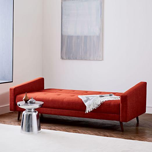 kiko futon sofa 82 west elm. Black Bedroom Furniture Sets. Home Design Ideas