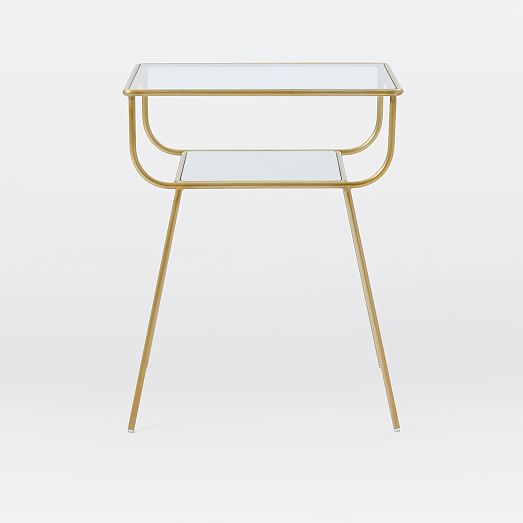 Curved Terrace Nightstand West Elm