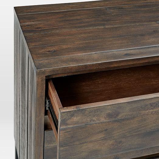 Logan 6 Drawer Dresser Smoked Brown West Elm