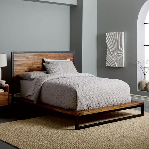 Logan Platform Bed Natural C