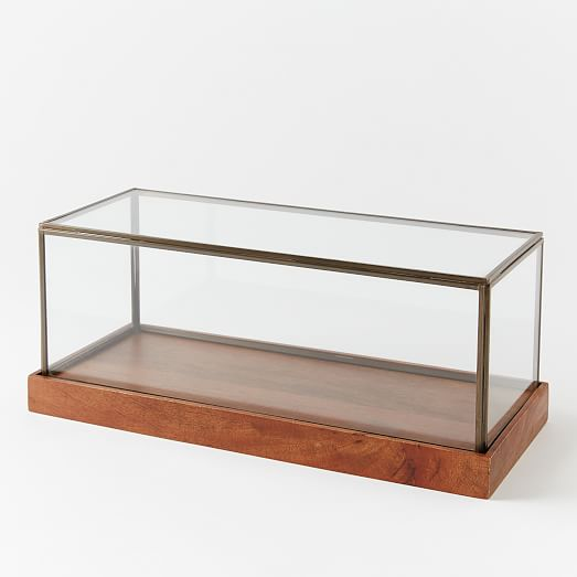 Wood + Glass Display Cases : west elm