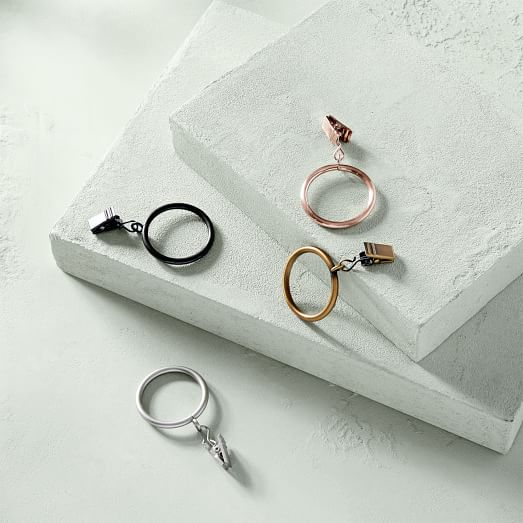 West Elm Oversized Curtain Rings