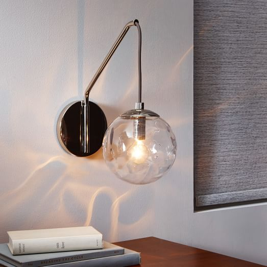Blown Glass Wall Sconce: Blown Glass Sconce