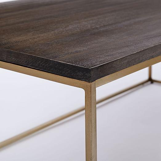 streamline coffee table west elm. Black Bedroom Furniture Sets. Home Design Ideas