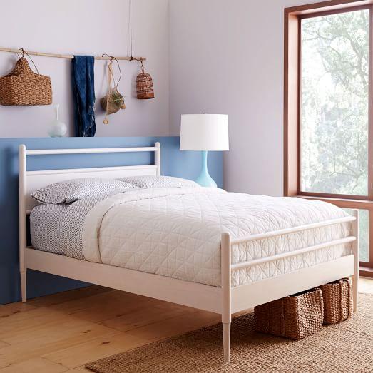 Harper bed west elm - Bed elm massief ...