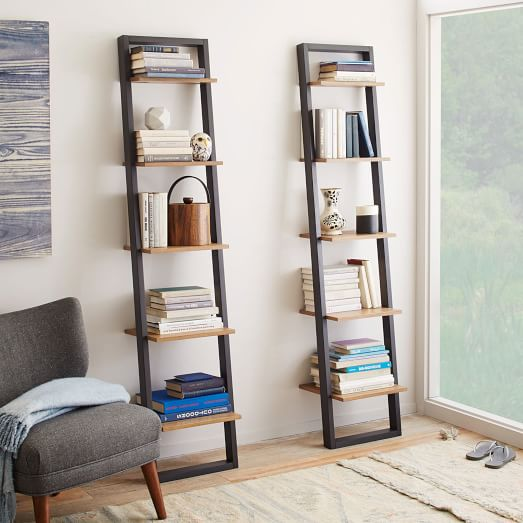 Ladder Shelving - Narrow : west elm
