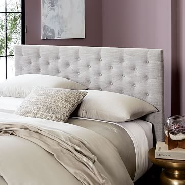 modern chesterfield headboard