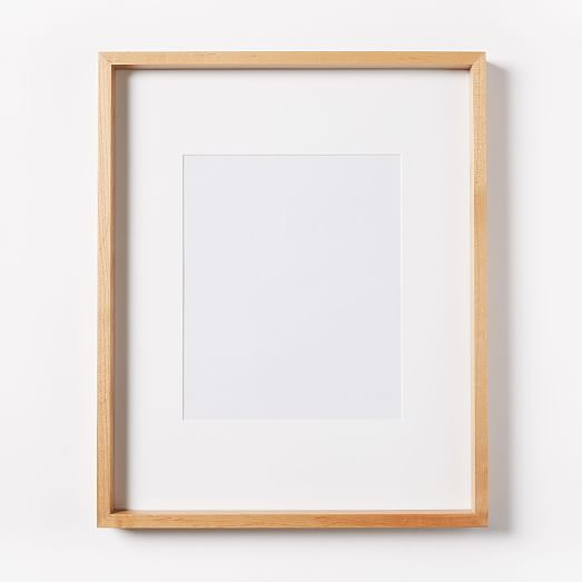 Thin Wood Gallery Frames Bamboo West Elm