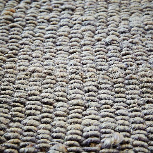 Jute Rug Dust: Stonewash Jute Rug