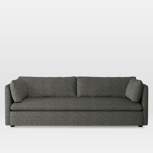 Shelter Grand Sofa, Boucle, Charcoal