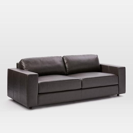 Urban Leather Sofa 84 5 West Elm