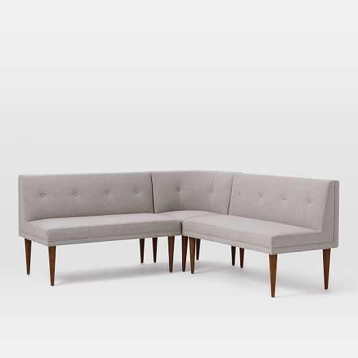 Banquette Benches: Build Your Own - Mid-Century Banquette