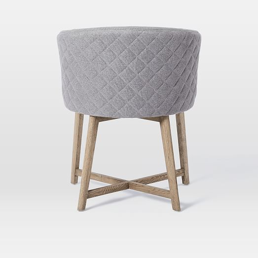 Quilted Tub Dining Chair