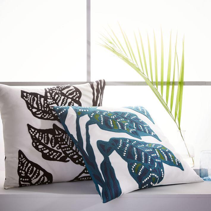 Springtime decorating with pillows