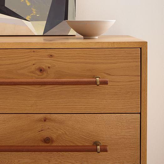 hugo 6 drawer dresser natural