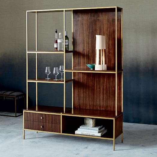 Uptown Bar Shelves West Elm