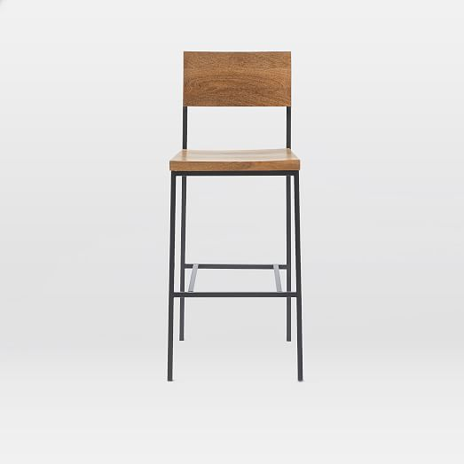 Counter Stools West Elm: Rustic Bar Stool + Counter Stool