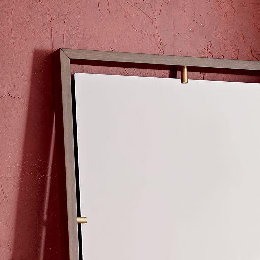 floating suspension floor mirror west elm. Black Bedroom Furniture Sets. Home Design Ideas