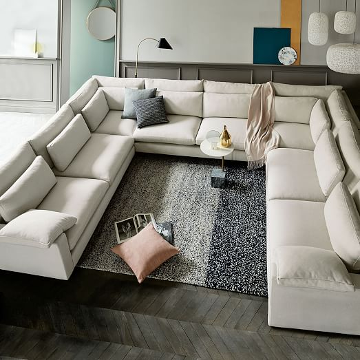 Harmony U Shaped Sectional West Elm