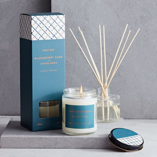 Greenhouse Collection, Blue, Blackberry Sage, Diffuser