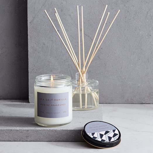 Greenhouse Homescent Collection Sea Salt Vanilla West Elm