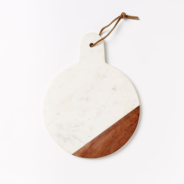 marble  wood cutting board  paddle  west elm, Kitchen design