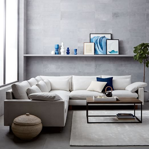 Harmony L Shaped Sectional West Elm