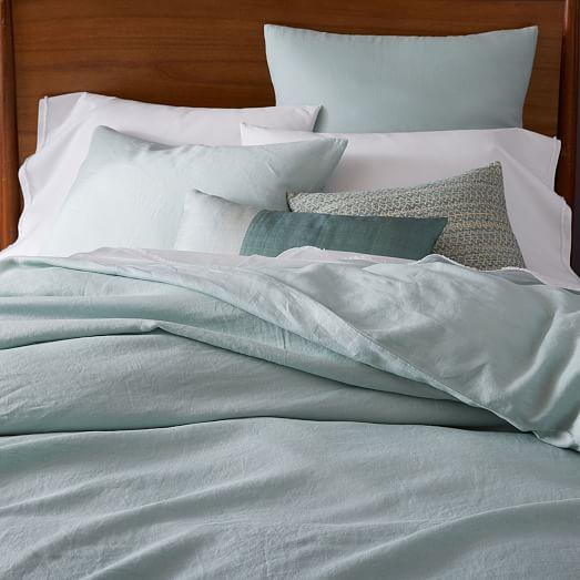 belgian flax linen duvet cover shams west elm. Black Bedroom Furniture Sets. Home Design Ideas