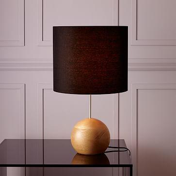 Small Pillar Table Lamp Marble West Elm