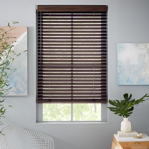 special order bali wood blinds medium 38 55 wide west elm. Black Bedroom Furniture Sets. Home Design Ideas