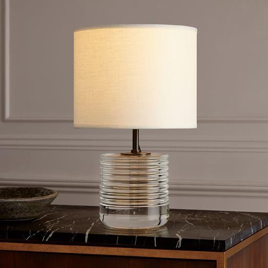 rejuvenation crystal table lamp small west elm. Black Bedroom Furniture Sets. Home Design Ideas