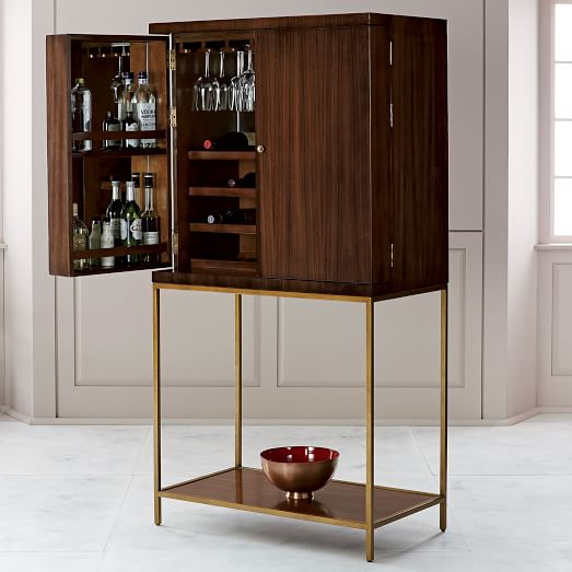 Uptown Bar Cabinet West Elm