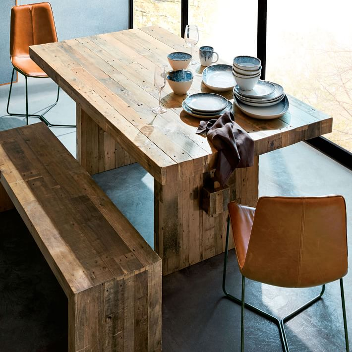 Emmerson Reclaimed Wood Dining Table west elm
