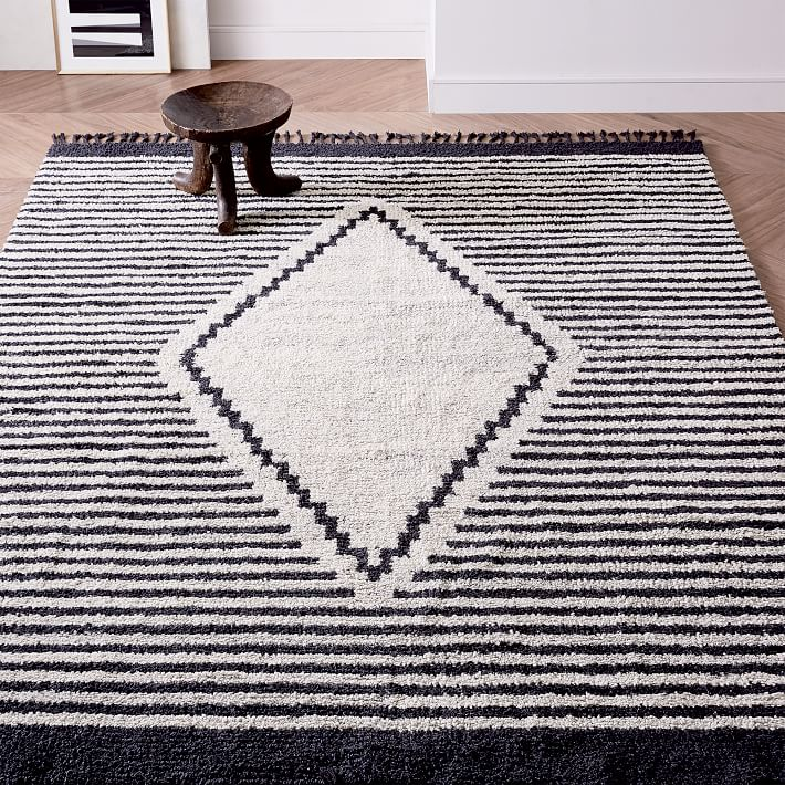7x10 rug under king bed