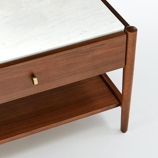 Robbins Mid-Century Storage Coffee Table
