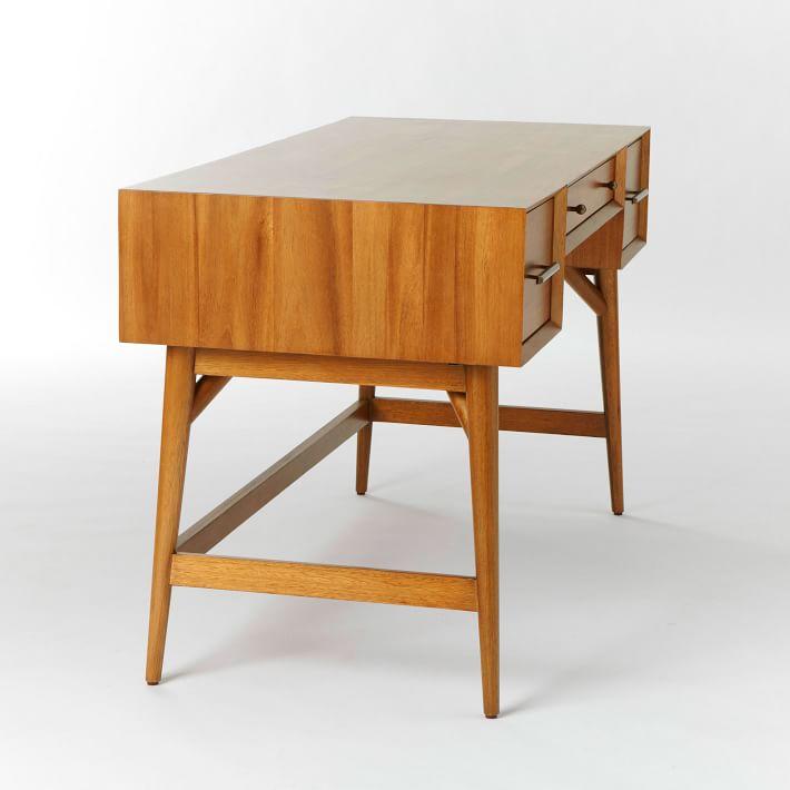 Mid-Century Desk - Acorn | west elm
