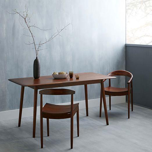 Lena MidCentury Dining Table Large – Mid Century Dining Room