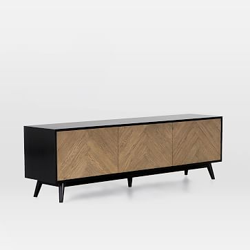 Industrial Modular 67 Media Console West Elm