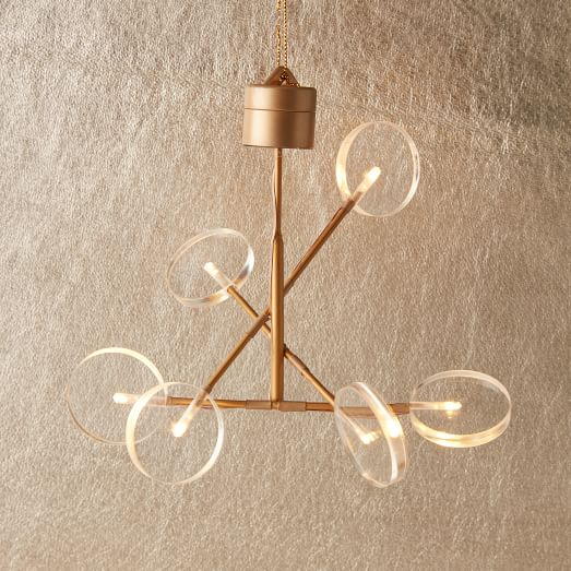 Battery Operated Chandelier With Awesome Battery Operated Outdoor And Indoor Chandelier Decor: LED Light-Up Ornament - Chandelier