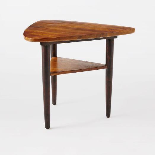 Lars Mid-Century Tri Side Table