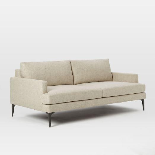 Andes sofa 76 5 west elm for Sofa 70 cm deep